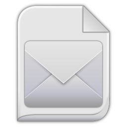 256x256px size png icon of message