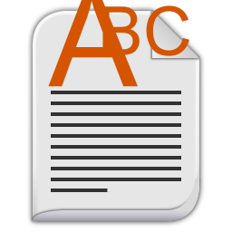 256x256px size png icon of text richtext