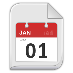 256x256px size png icon of vcalendar
