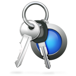 256x256px size png icon of Keychain Access
