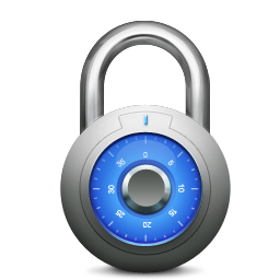 256x256px size png icon of Lock