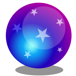 256x256px size png icon of Magic ball