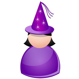 256x256px size png icon of Witch