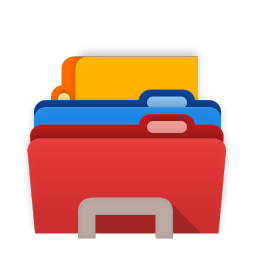 256x256px size png icon of Folders Explorer