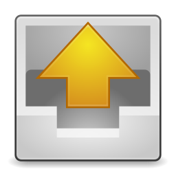 256x256px size png icon of Actions mail outbox