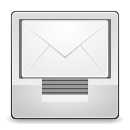 256x256px size png icon of Actions mail send