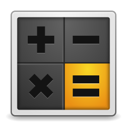 256x256px size png icon of Apps accessories calculator