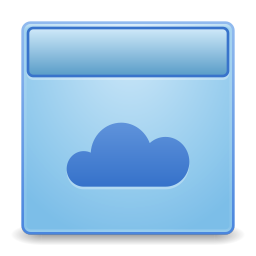 256x256px size png icon of Apps dropbox
