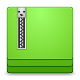 256x256px size png icon of Apps file roller