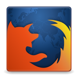 256x256px size png icon of Apps firefox