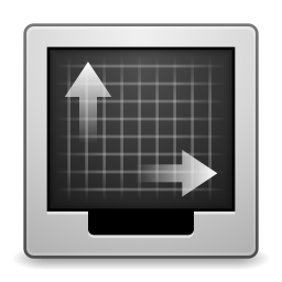 256x256px size png icon of Apps gnome display properties
