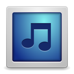 256x256px size png icon of Apps gnome music