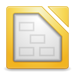 256x256px size png icon of Apps libreoffice draw