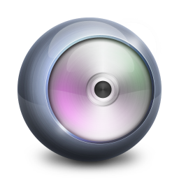 256x256px size png icon of DVD