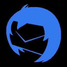 256x256px size png icon of Communication thunderbird