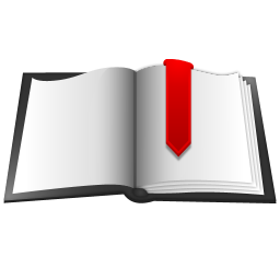 256x256px size png icon of Book