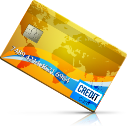 256x256px size png icon of Credit Card