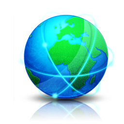 256x256px size png icon of Globe