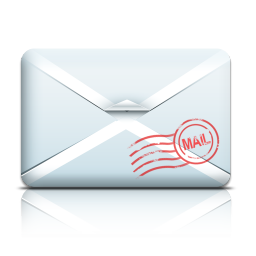 256x256px size png icon of Mail