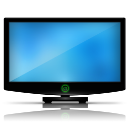 256x256px size png icon of Tv