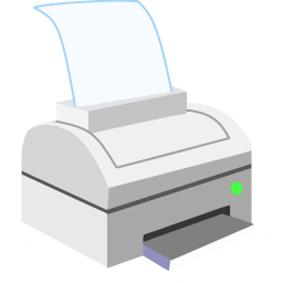 256x256px size png icon of ModernXP 04 Printer