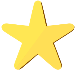 256x256px size png icon of ModernXP 08 Star