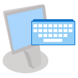 256x256px size png icon of ModernXP 09 Keyboard