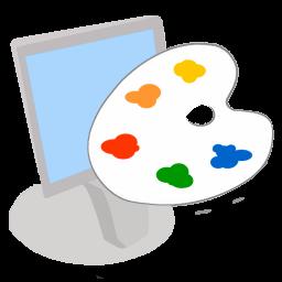 256x256px size png icon of ModernXP 12 Workstation Desktop Colors