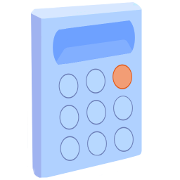 256x256px size png icon of ModernXP 17 Calculator