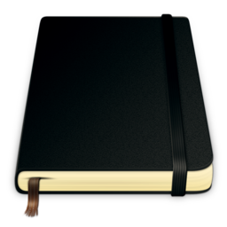 256x256px size png icon of moleskine pure 512