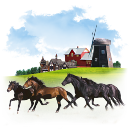256x256px size png icon of Animals Horses
