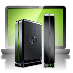256x256px size png icon of Backup Seagate