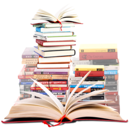 256x256px size png icon of Books 1