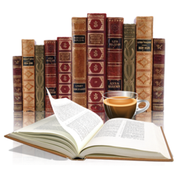 256x256px size png icon of Books 2