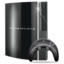 256x256px size png icon of Games Playstation 3