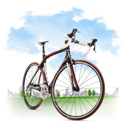 256x256px size png icon of Travel Bicycle