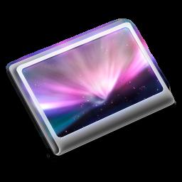 256x256px size png icon of Folder Desktop