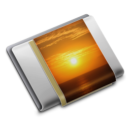 256x256px size png icon of Folder Pictures