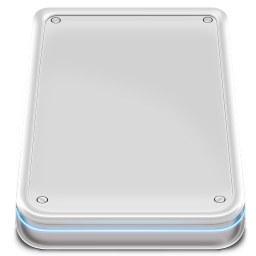 256x256px size png icon of Hard Disk External