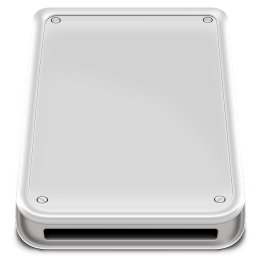 256x256px size png icon of Hard Disk Removable