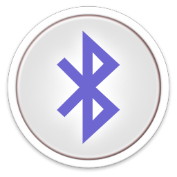 256x256px size png icon of Bluetooth