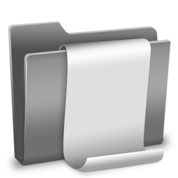 256x256px size png icon of Scripts