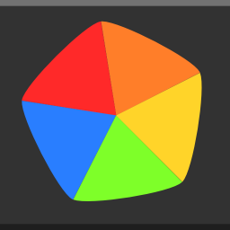 256x256px size png icon of Apps colors