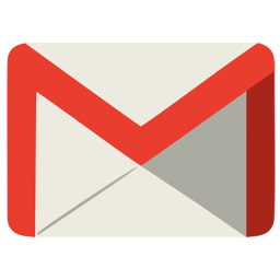 256x256px size png icon of Communication gmail