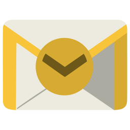 256x256px size png icon of Communication outlook