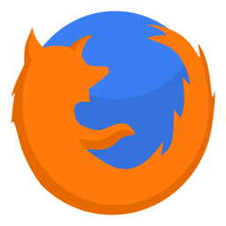 256x256px size png icon of Internet firefox