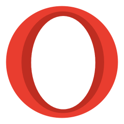 256x256px size png icon of Internet opera