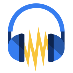 256x256px size png icon of Media audacity