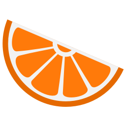 256x256px size png icon of Media clementine
