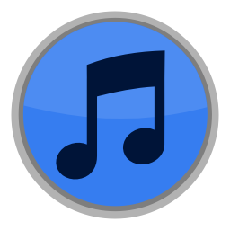 256x256px size png icon of Media iTunes